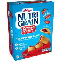Kellogg's Nutri-Grain Kids, Soft Baked Mini Bars, Strawberry Blast, 10 Ct, - $10.00