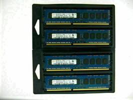 4x 8GB 32GB DDR3 ECC UDIMM RAM PC3-12800E 1600 MHz for Dell PowerEdge R220