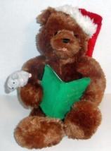 "GUND ANIMATED STORYTIME BEAR TWAS THE NIGHT BEFORE CHRISTMAS 16"" PLUSH D... - $18.99"