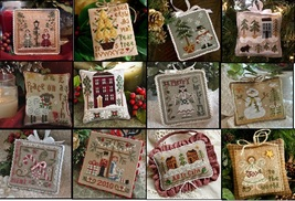 2010 Ornament Series LOT 12 charts complete collection Little House Need... - $61.20