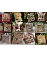 2010 Ornament Series LOT 12 charts complete collection Little House Needleworks - $61.20