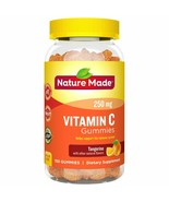 Nature Made Adult Gummies 250 mg Vitamin C Tangerine 150 New & Sealed - $18.49