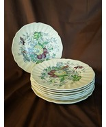 Royal Doulton THE KIRKWOOD Multi Color Floral - Lunch Salad Plates - Set... - $49.95