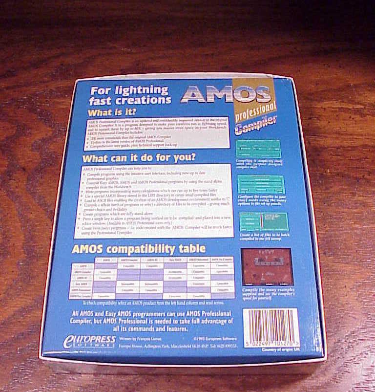 Vintage Amiga Computer AMOS Professional and 12 similar items