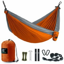 Camping Hammock, Lax Portable Double Durable Hammock Backpacking, Travel... - $30.68