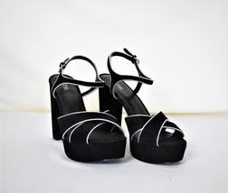 Michael Kors Shoes Platform Black Strap 9.5 Leather Uppers Nwot - $100.00