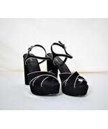 MICHAEL KORS Shoes Platform Black Strap 9.5 Leather Uppers NWOT - $90.00