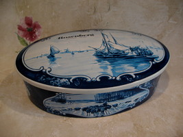Vintage Rosenberg Amsterdam HOLLAND Tin Sailboat Souvenir DUTCH Collecti... - $19.95