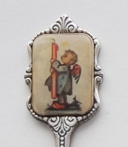 Collector Souvenir Spoon Hummel Angel Boy Candle Christmas 1987 Limited ... - $14.99