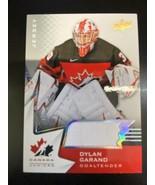 2020-21 UPPER DECK TEAM CANADA JUNIORS GAME JERSEY #22 DYLAN GARAND - $5.89