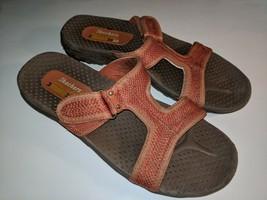 Skechers Outdoor Lifestyle Womens Burnt Orange Size 8 Slide Sandals  - £20.15 GBP