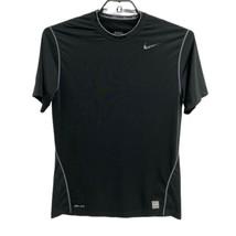 Nike pro men's t-shirt sport black short sleeve size L/G - $14.19