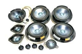 06-2012 mercedes w164 ml350 complete speakers sound sub woofer tweeter set of 12 - $294.99