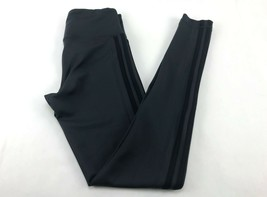 adidas Climalite Women Active Legging Tight Pants 3-Stripes Size S Carbo... - $24.49