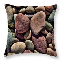Colorful Stones, Throw Pillow, fine art, seat c... - $41.99 - $69.99