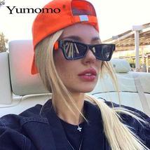 Small Narrow Cat Eye Sunglasses Women Luxury Brand Designer Personlity Fashion V