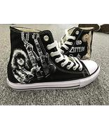 5ef386ca82d13f Free shipping   88.19 · Men Women Sneakers Led Zeppelin Jimmy Page Hand Painted  Shoes Custom Sne... -