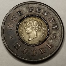 c.1844 Great Britain Model Penny by Joseph Moore - UK - England - Victoria - $29.99