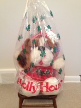 Crowley's Holly Hound Plush w/Bag RARE - $23.36