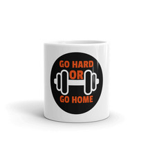 Go Hard Or Go Home Gym Fitness Workout Motivation Sayings Quotes Cup Mug - $14.85+