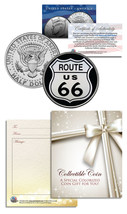 ROUTE 66 * Legendary Highway* JFK Kennedy Half Dollar U.S. Colorized Coin - $8.56