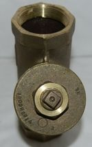 Legend Valve Two Inch Bronze Y Strainer Female NPT Ends Lead Free 105-508NL image 4