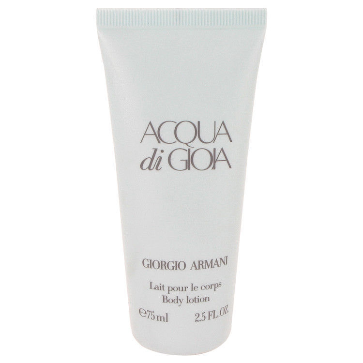Acqua di Gioia by GIORGIO ARMANI Perfumed Body Lotion 75ml 2.5oz NEW