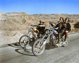 Easy Rider Peter Fonda Dennis Hopper 11x14 Photo on Bikes in desert - $14.99