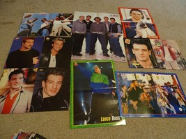 Nsync teen magazine pinup posters clipping lot Man of the woods Popstar ... - $20.00
