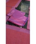 Napkin Table Mats placemats 100% Cotton Hand Woven Reversible 12 Pc Set - $55.02