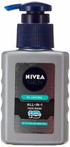Nivea Men Oil Control All In One Cooling Menthol Face Wash Pump, 65mll FREE SHIP - $7.67