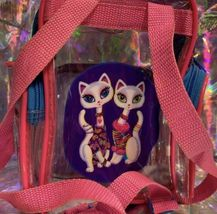 Lisa Frank Roxie Rollie Rare Both White Fur! Mini Backpack Earlier R+R Design image 4