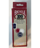 Bicycle Casino Style Interlocking Easy Stack Poker Chips 100 Count Singl... - $6.88