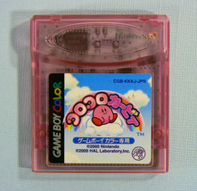 Kirby Tilt 'n Tumble (Nintendo Game Boy Color GBC, 2000) Japan Import - $8.16