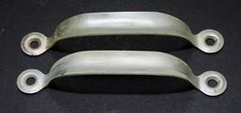Pair of Screen Door Handles Pulls Aluminum Vintage - $6.93