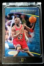 Michael Jordan 1998 Topps Stadium Club Never Compromise #NC1 MJ INSERT B... - $51.16