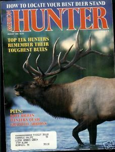 Primary image for American Hunter August 1992 Magazine