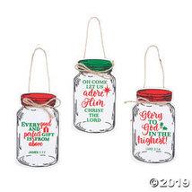 Inspirational Mason Jar Ornaments - $15.25