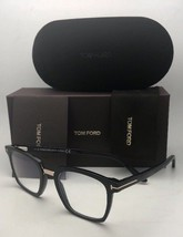 New TOM FORD Eyeglasses TF 5523-B 001 50-20 145 Black & Gold Frame w/ Cl... - $339.95