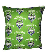 Sounders FC Pillow Seattle Sounders FC Pillow Sounders FC MLS Handmade i... - $11.96
