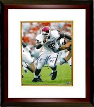 Tommie Harris signed Oklahoma Sooners 16X20 Photo Custom Framed Lombardi 03 - $117.00
