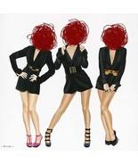 J. Barrios Giclée Glamour Trio Painting - $1,500.00+
