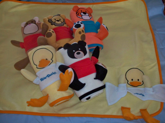 NEW Baby Blanket - DUCK - PERSONALIZED NAME Embroidery SHOWER GIFT