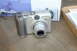 Canon Power Shot A80 Camera, 4.0MP, 7.8-23.4mm Zoom - $15.00
