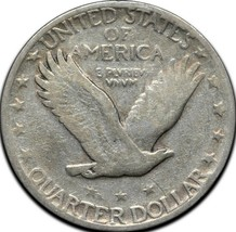 1927S Standing Liberty Silver Quarter Coin Lot A 305 image 2