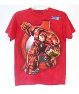 Avengers Mens Iron Man T-Shirt Marvel Superhero... - $9.13