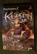 Kessen PS2 Playstation 2 Complete in Box w/ Strategy Guide 2000 - Tested - $24.95