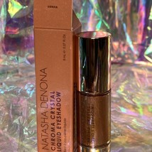 NEW IN BOX Natasha Denona SIENNA Chroma Crystal Liquid Eyeshadow Intense Shimmer