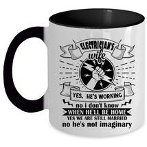 Electrician's Wife Cup, Cool Gift For My Wife Mug - $19.99+