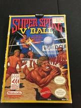 Super Spike Volleyball V' Ball 1990 NES Nintendo ORIGINAL GAME & BOX AUT... - $24.70